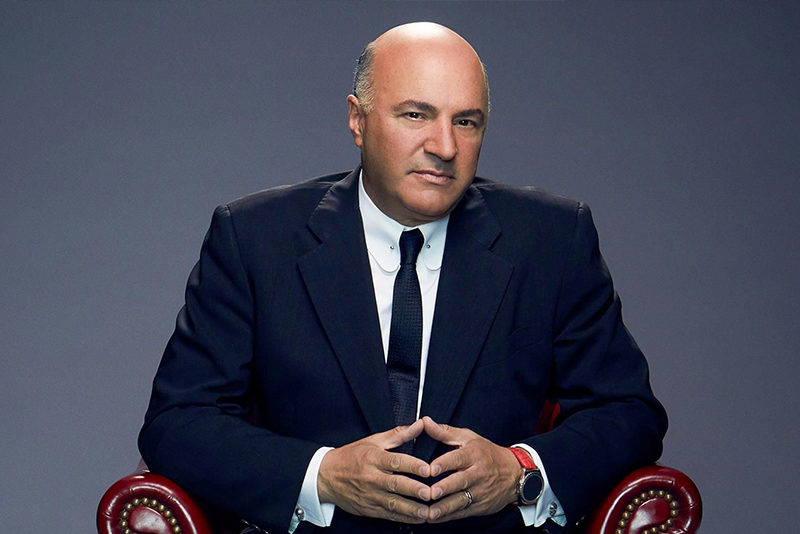 Shark Tank co-host Kevin O'Leary (aka Mr. Wonderful.)